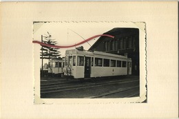 TRAM : GRIMBERGEN  05/1958   :   9 X 6 Cm ( See Scan For Detail ) - Trains