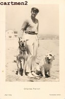 CHARLES FARELL AND HIS DOG ACTEUR ACTOR CINEMA - Actors