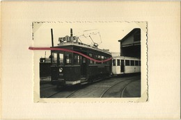 TRAM : 9933 - 19250 : CHARLEROI  6/58  :   9 X 6 Cm ( See Scan For Detail ) - Trains