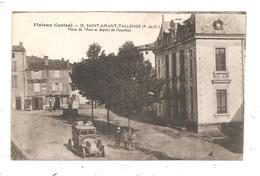 Saint-Amant-Tallende-Place De L'Aise Et Départ De L'Autobus--(D.162) - Altri Comuni