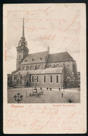 AK/CP Tarnow    Kosciol  Katedralny    Gel./circ. Um 1900    Erhaltung /Cond. 2- / 3  Nr. 00660 - Pologne