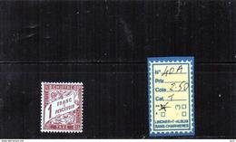 FRANCE TAXE N°40A - LUXE** - - Portomarken