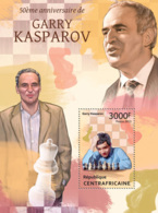 Central Africa  2013 Garry Kasparov  ,chess - Central African Republic