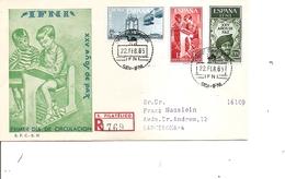 Ifni  ( FDC De 1965 Voyagé En Recommandé Vers L'Espagne à Voir) - Ifni