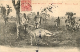 GUINEE CHASSE AU DAGOUE - Guinée Française