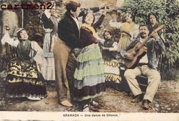 GRANADA UNA DANZA DE GITANOS GITAN FOLKLORE COSTUME ESPANA ANDALUCIA - Granada