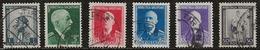 Albanie 1939-1940 N°Y.T. : 257,260,262 à 265 Obl. - Albania