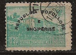 Albanie 1946 N°Y.T. : 335G Obl. - Albania