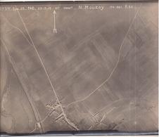 GUERRE 1914-1918 - WW1 - Bataille De VERDUN - MOUZAY - Photo Aérienne Le 23.3.1918 à 12h - War, Military