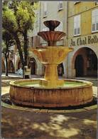 GRASSE La Fontaine De La Place Aux Aires - Grasse