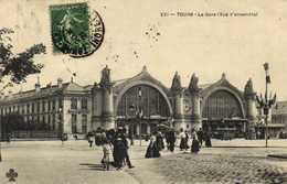 TOURS  La Gare (Vue D'ensemble) RV - Tours