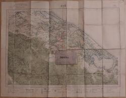 Carte De L'Indochine. Hué.  Feuille N° 125. Lieutenant Troyes. - Documents