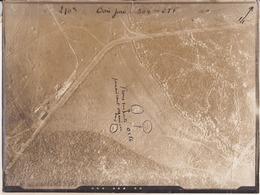 """GUERRE 1914-1918 - WW1 - Bataille De VERDUN - Bois Juré 304.285 """"Trous Suspects Paraissant Organisés"""" - Photo Aérienne - Guerre, Militaire"""