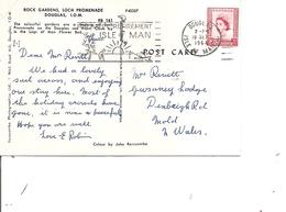 Man ( CP De 1964 De Douglas Vers La Grande-Bretagne à Voir) - Isle Of Man