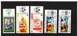 LKA177 UNO WIEN 1987 MICHL 68/72 Mit TABS ** Postfrisch Siehe ABBILBUNG - Centre International De Vienne