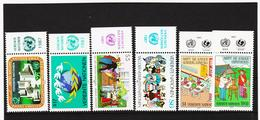 LKA178 UNO WIEN 1987 MICHL 73/78 Mit TABS ** Postfrisch Siehe ABBILBUNG - Centre International De Vienne