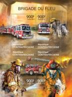 Central Africa  2013  Fire Brigade ,fire Truck - Central African Republic