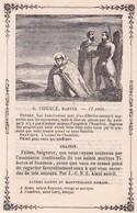 Ancienne Image Pieuse Religieuse Saint Tiburce Martyr - Religion & Esotericism