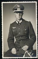 Foto AK/CP  Porträt  Wehrmacht Dolch Dagger  Medal  Panzerfahrer  Ungel/uncirc.1940  Erhaltung/Cond. 1  Nr. 00678 - Guerre 1939-45