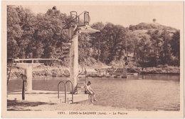 39. LONS-LE-SAUNIER. La Piscine. 1991 - Lons Le Saunier