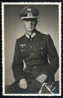 Foto AK/CP  Porträt  Wehrmacht Dolch Dagger  Medal  Panzerfahrer  Ungel/uncirc.1940  Erhaltung/Cond. 1  Nr. 00679 - Weltkrieg 1939-45