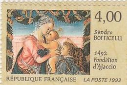 FRANCE 1992 N°2754**BOTTICELLI - France