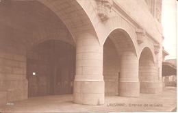LAUSANNE (Vaud-VD) Entrée De La Gare (Carte Pas Courante) - VD Vaud