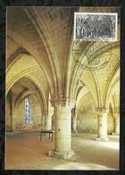 ABBAYE DE VAUCELLES . 19 SEPTEMBRE 1981 . LES RUES DES VIGNES . - FDC