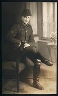 Foto AK/CP  Porträt Jäger  EK 2  Iron Cross   Breslau     Ungel/uncirc.1933-45   Erhaltung/Cond. 2  Nr. 00682 - Guerre 1939-45