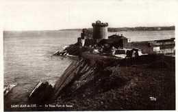 Cpsm Petit Format  St Jeau De Luz  Le Vieux  Fort De  Socoa   RV - Saint Jean De Luz