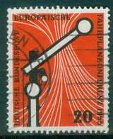 BRD 1955 / MiNr.   219   O / Used  (r1263) - [7] Federal Republic
