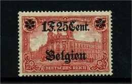 LP IN BELGIEN 1916 Nr 23IB Postfrisch (113846) - Besetzungen 1914-18