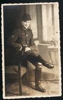 Foto AK/CP  Porträt Jäger  EK 2  Iron Cross   Breslau     Ungel/uncirc.1933-45   Erhaltung/Cond. 2-  Nr. 00683 - Guerre 1939-45