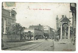 NICE Rue De France - Circulée 1906 - Bon état - Nizza