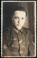 Foto AK/CP  Porträt Jäger  EK 2  Iron Cross   Breslau     Ungel/uncirc.1933-45   Erhaltung/Cond. 2-  Nr. 00684 - Guerre 1939-45