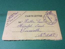 ANDELOT.  Cachet  Du GROUPE FORESTIER. Numéro 17 - Andelot Blancheville