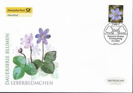 2005  Deutschland Allem. Fed. Mi. 2485 FDC  Blumen :  Leberblümchen (Hepatica Sp.) - FDC: Enveloppes