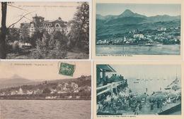 19 / 3 / 479  -  EVIAN  ( 74 )  LOT  DE  8  C P A   DIVERSES - Cartoline