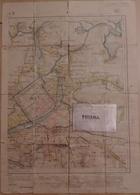 Carte De L'Indochine. Hué. Carte Des Deltas De L'Annam. Feuille N° 31. Lieutenant Troyes. - Documenti