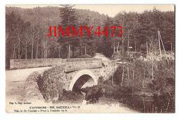 CPA - Vallée De Condat Pont à L'entrée De La Route - SAUXILLANGES ( Arr. De Issoire ) 63 Puy De Dôme - Ed. L. Boy N° 989 - Issoire