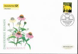 2006  Deutschland Allem. Fed. Mi. 2524 FDC  Blumen :   Sonnenhut (Rudbeckia Fulgida) - FDC: Enveloppes