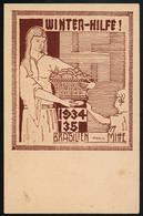 AK/CP  RR !   Propaganda VDA  Deutschtum  Winterhilfe Brasilien  Ungel/uncirc.1934   Erhaltung/Cond.  2   Nr. 00697 - Guerre 1939-45