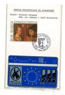 Belgique RTT Europalia Portugal Par Le Cercle Philatélique De Schaerbeek 1991 Neuve Sous Plastique - België