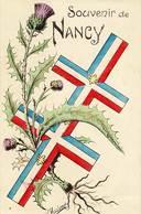 54 - Souvenir De NANCY - Croix De Lorraine Entouré De Chardons - - Nancy