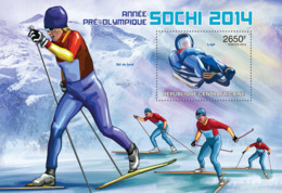 Central Africa  2013  Sochi 2014  Winter Olympic Games , (Luge). - Central African Republic