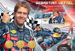 Central Africa  2013  Sebastian Vettel ,German Racing Driver - Central African Republic