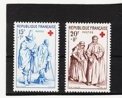 LKA193 FRANKREICH 1957 Michl 1175/76 ** Postfrisch SIEHE ABBILDUNG - Frankreich
