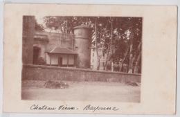 BAYONNE - Château Vieux - Carte-photo 1903 - Bayonne