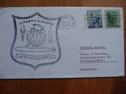 (us) Schiffpost Shipmail  USS PATRICK HENREY LIBERTY OR DEATH 1967 1967 UNITED STATES - Boten