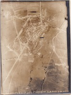 GUERRE 1914-1918 - WW1 - Bataille De VERDUN - DAMVILLERS - Photo Aérienne Prise Le 27.7.1917 à 11h, Altitude 4000m - War, Military